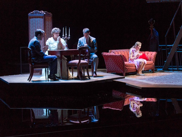 Show Photos - Glass Menagerie - Zachary Quinto - Cheery Jones - Brian J. Smith - Celia Keenan-Bolger