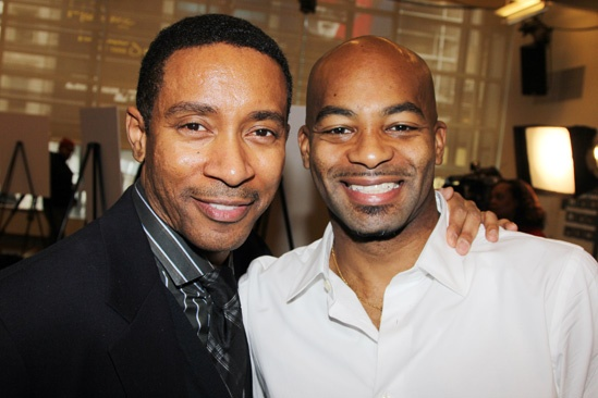Motown Meet and Greet  Charles Randolph-Wright  Brandon Victor Dixon