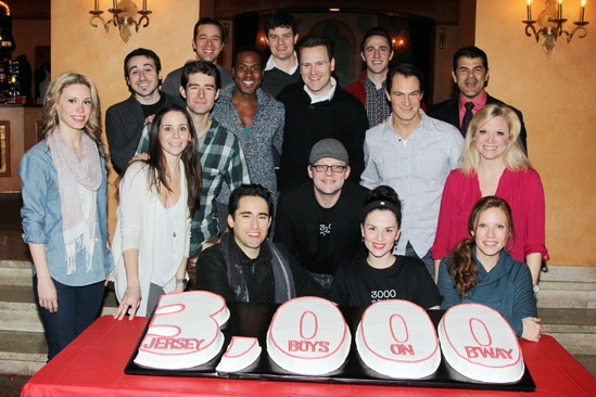 Jersey Boys - 3000th Performance - Cast - Creative
