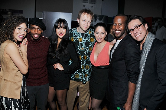 In The Heights Reunion Concert — Afra Hines — Daniel J. Watts — Courtney Reed — Doug Hinrichs — Genny Lis Padilla — Marcus Paul James — Michael Balderrama
