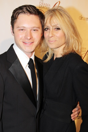Drama League Gala for Audra 2013 – Bobby Steggert – Judith Light