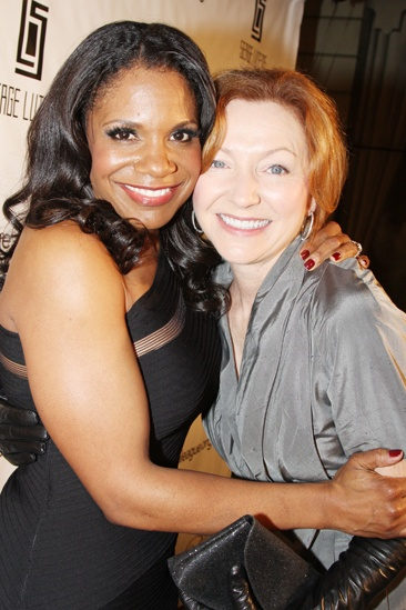 Drama League Gala for Audra 2013 – Audra McDonald – Julie White