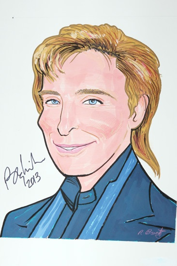 Sardis Tribute  Barry Manilow  Barry Manilow   Portrait 