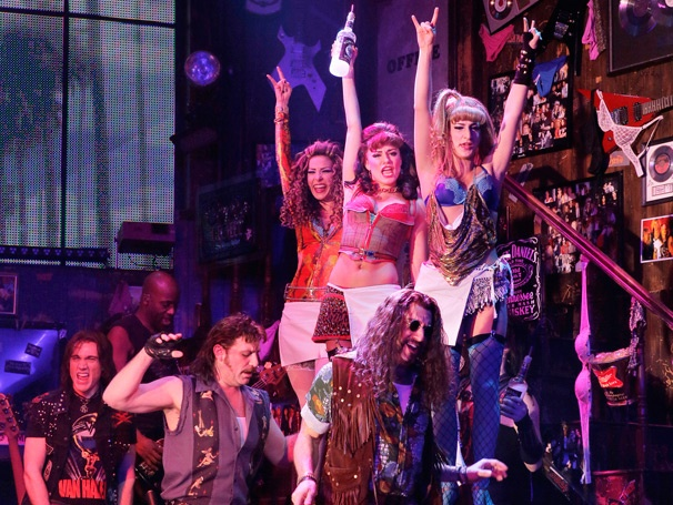 Show Photos - Rock of Ages - Justin Matthew Sargent - Genson Blimline - Adam Dannheisser