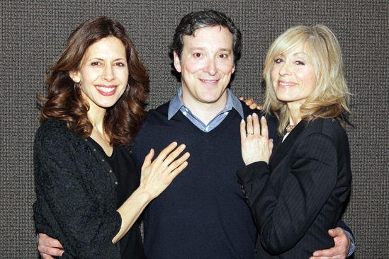 The Assembled Parties – Meet the Press – Jessica Hecht – Jeremy Shamos – Judith Light
