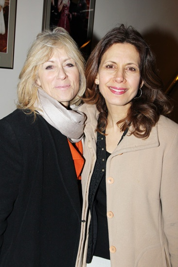 The Madrid  Opening Night  Judith Light  Jessica Hecht 
