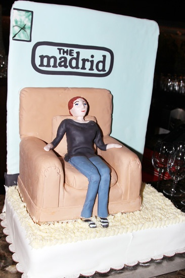 The Madrid – Opening Night – Cake