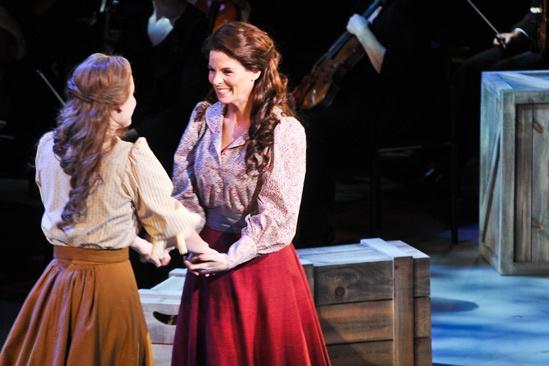 'Carousel' at Lincoln Center — Kelli O'Hara — Jessie Mueller