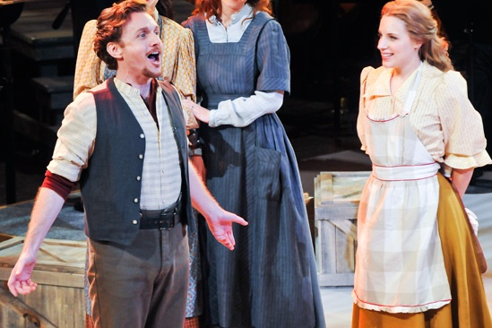 'Carousel' at Lincoln Center — Jason Danieley — Jessie Mueller