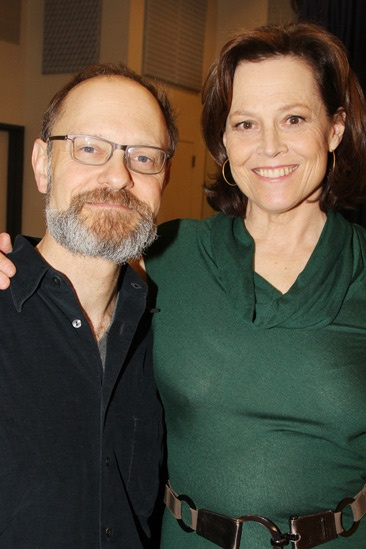 Vanya and Sonia Broadway Meet and Greet – David Hyde Pierce – Sigourney Weaver