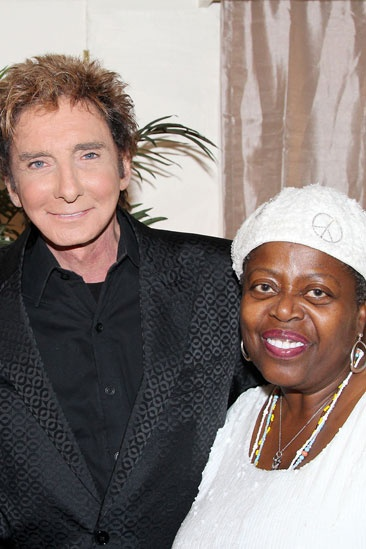 Celebs at Manilow on Broadway  Barry Manilow  Lillias White