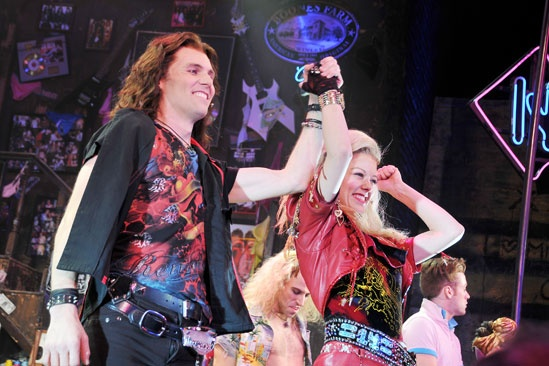 Rock of Ages – 50 Longest Running – Tony LePage – Kate Rockwell