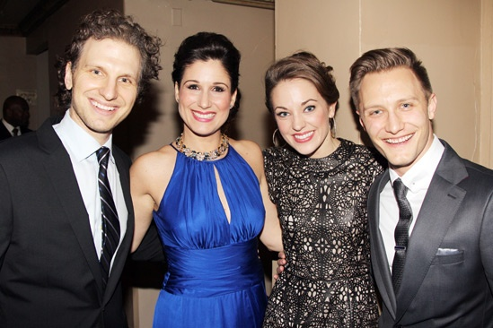 Roundabout Spring Gala  Sebastian Arcelus  Stephanie J. Block  Laura Osnes  Nathan Johnson
