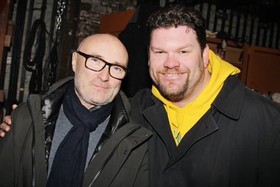 Phil Collins at 'Kinky Boots' — Phil Collins — Phil Collins — Daniel Stewart Sherman