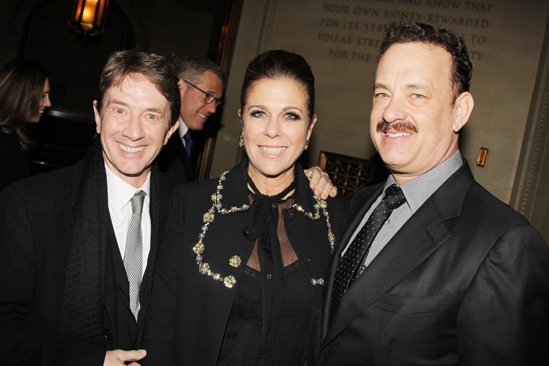 'Lucky Guy' Opening — Martin Short — Rita Wilson — Tom Hanks