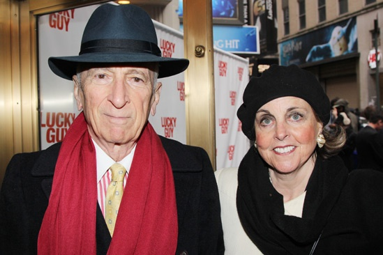 'Lucky Guy' Opening — Gay Talese — Nan Talese