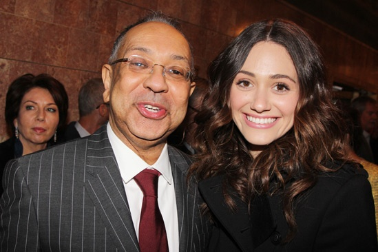 'Lucky Guy' Opening — George C. Wolfe — Emmy Rossum