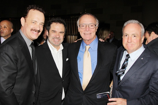 'Lucky Guy' Opening — Tom Hanks — Dennis Miller — Nick Pileggi — Lorne Michaels