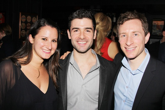 The Last Five Years – Opening Night – Jen Namoff - Adam Kantor – Craig Burns