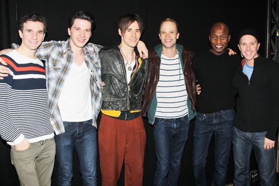 Kinky Boots- Charlie Sutton- Joey Taranto- Reeve Carney- Kyle Post- Kevin Smith Kirkwood- Paul Canaan