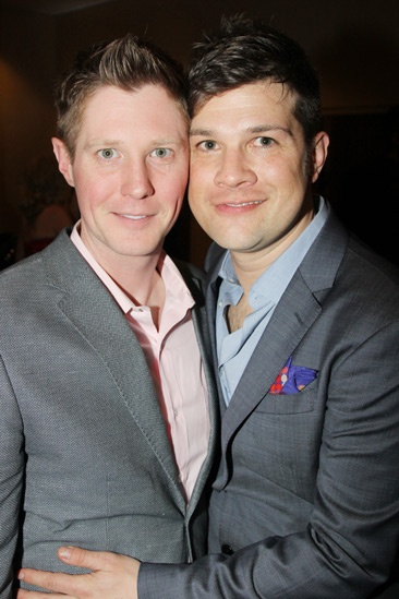 Kinky Boots Opening- Justin Bohon- Stephen Oremus