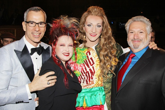 Kinky Boots Gypsy Robe - Jerry Mitchell - Cyndi Lauper - Charlie Sutton - Harvey Fierstein