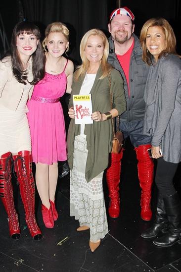 Kinky Boots- Celina Carvajal- Annaleigh Ashford- Kathie Lee Gifford- Daniel Stewart Sherman- Hoda Kotb