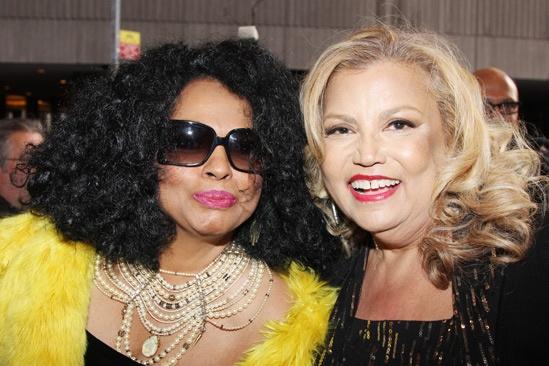 'Motown' Opening Night — Diana Ross — Suzanne de Passe