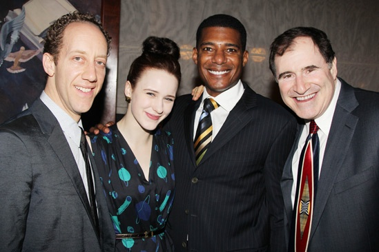'The Big Knife' Opening — Joey Slotnick — Rachel Brosnahan — Billy Eugene Jones — Richard Kind
