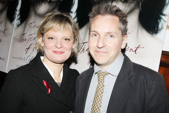 'Testament of Mary' Opening Night — Martha Plimpton — Tom Pye