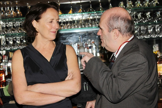'Testament of Mary' Opening Night — Fiona Shaw — Colm Toibin