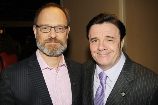 2013 Tony Nominee Brunch — David Hyde Pierce — Nathan Lane