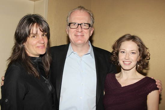 2013 Tony Nominee Brunch — Pam MacKinnon — Tracy Letts — Carrie Coon