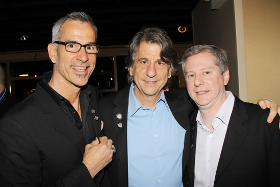 2013 Tony Nominee Brunch — Jerry Mitchell — David Rockwell — Kenneth Posner