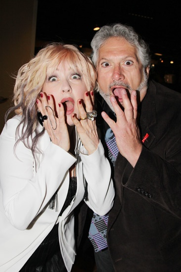 2013 Tony Nominee Brunch — Cyndi Lauper — Harvey Fierstein