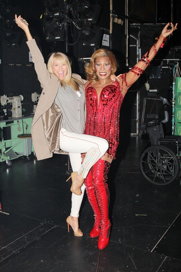 <i>Kinky Boots</i> - Christie Brinkley - Billy Porter
