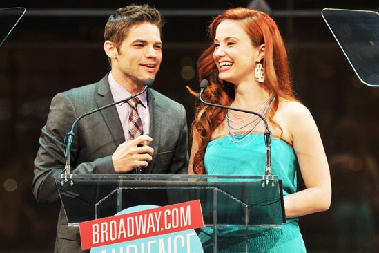 2013 Audience Choice Awards Ceremony — Jeremy Jordan — Sierra Boggess