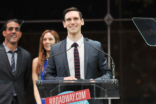 2013 Audience Choice Awards Ceremony — Cory Michael Smith
