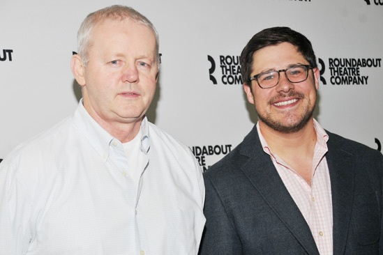'The Unavoidable Disappearance of Tom Durnin' Meet and Greet — David Morse — Rich Sommer