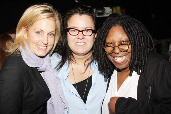 Kinky Boots- Ali Wentworth -Rosie O'Donnell- Whoopi Goldberg