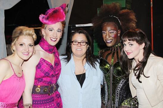 Kinky Boots- Annaleigh Ashford-  Stephen Carrasco - Rosie O'Donnell- Kyle Taylor Parker- Celina Carvajal