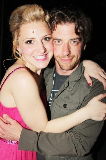 Celebs at Kinky Boots — Annaleigh Ashford — Christian Borle