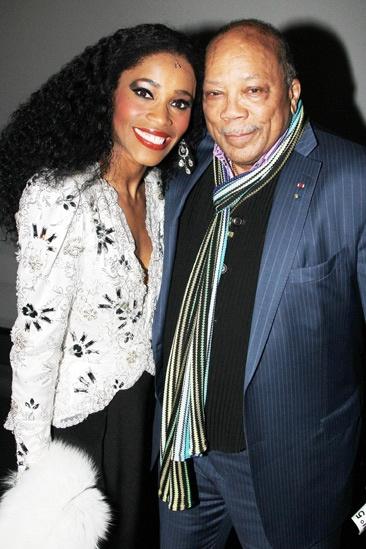 Quincy Jones at 'Motown' — Valisia LeKae — Quincy Jones