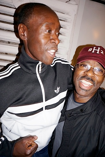 Courtney B. Vance Backstage at 'Lucky Guy' — Don Cheadle — Courtney B. Vance