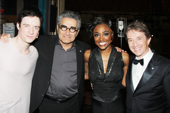 Pippin – Martin Short Backstage Visit – Matthew James Thomas – Eugene Levy – Patina Miller – Martin Short