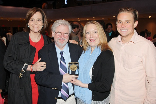 2013 Drama League Awards Luncheon — Sigourney Weaver — Christopher Durang — Kristine Nielsen — Billy Magnussen