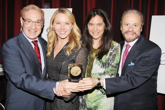 2013 Drama League Awards Luncheon — Howard Kagan — Janet Kagan — Diane Paulus — Barry Weissler