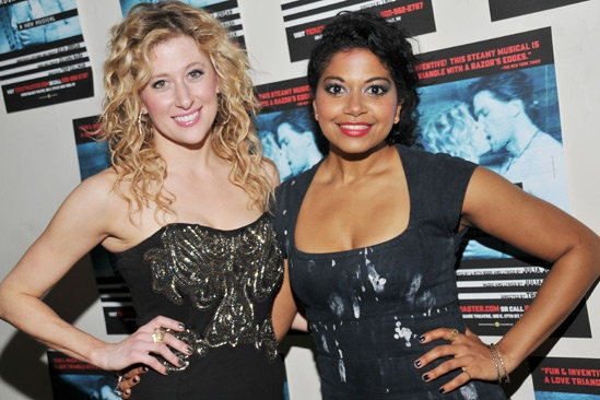 Murder Ballad – Opening Night – Caissie Levy – Rebecca Naomi Jones