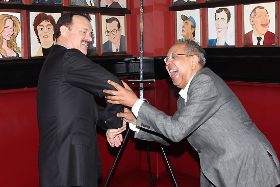 Tom Hanks at Sardi's — Tom Hanks — George C. Wolfe