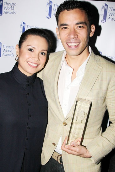 2013 Theatre World Awards — Lea Salonga — Conrad Ricamora